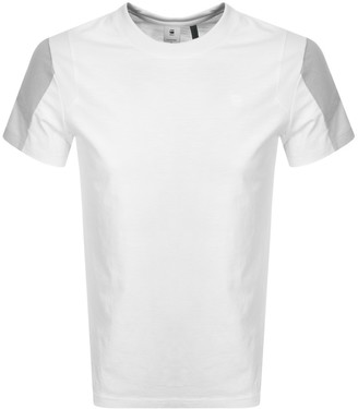 G Star Raw Motac Logo T Shirt White