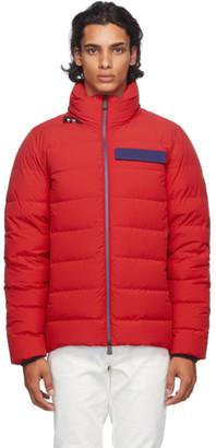 MONCLER GRENOBLE Red Down Kander Jacket