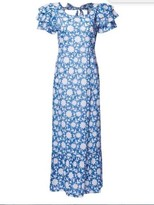 Pink City Prints - Blue Flower Dress - S