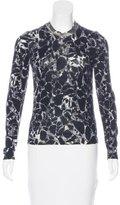 Balenciaga Virgin Wool Printed Top