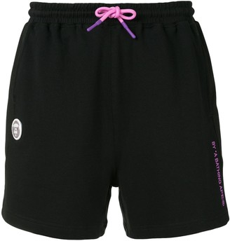 AAPE BY *A BATHING APE® Drawstring Logo Shorts