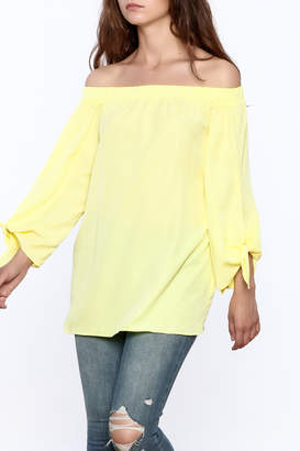Do & Be Canary Yellow Long Top