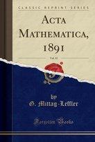 Patanjali ACTA Mathematica, 1891, Vol. 15 (Classic Reprint)