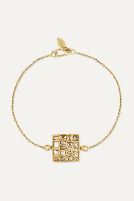Pippa Small 18-karat Gold Diamond Bracelet - one size