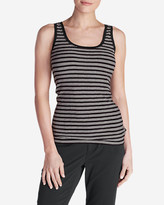 Eddie Bauer Women's Lookout Tank Top - Stripe
