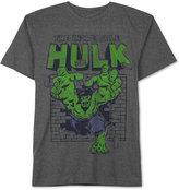 JEM Men's Big & Tall Incredible Hulk Graphic-Print T-Shirt