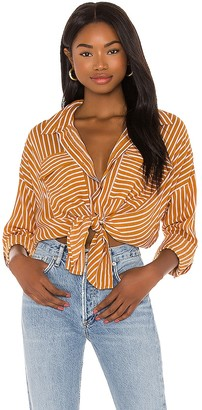 Seafolly Stripe Beach Shirt