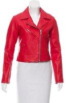 Veda Leather Biker Jacket w/ Tags