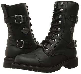 Harley-Davidson Balsa (Black) Women's Lace-up Boots