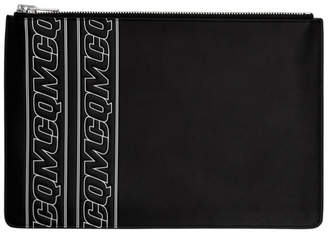 McQ Black Logo Tablet Pouch