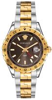 Versace Hellenyium Brown Dial Watch, 42mm