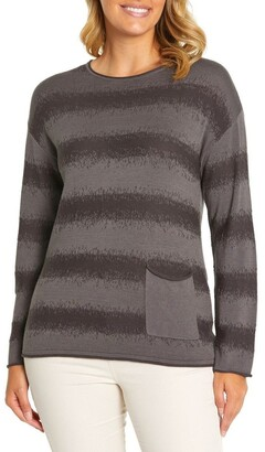 Marc O'Polo Marco Polo Long Sleeve Wave Knit Sweater