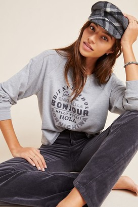 Maeve Hello Graphic Sweatshirt