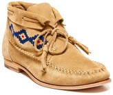 Sole Society Embroidered Moccasin Bootie