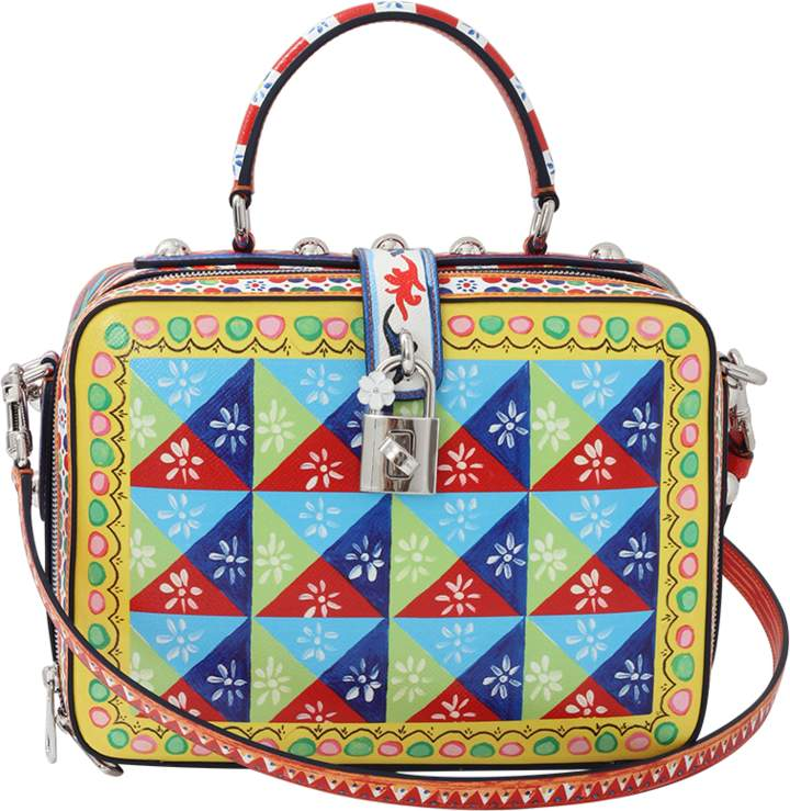 Dolce & Gabbana Diamond Maiolica Bag