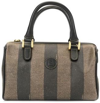 Fendi Pre-Owned pequin pattern Mini hand bag