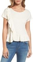 Velvet by Graham & Spencer Women's Ruffled Tee