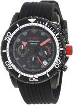 Redline Red Line Men's RL-50034-BB-01 Piston Chronograph Dial Watch