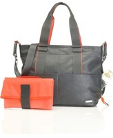 Storksak 'Eden' Faux Leather Diaper Bag