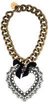 Lanvin Mira Heart Statement Necklace