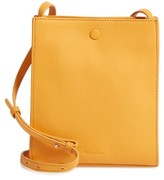 Steven Alan Camden Leather Crossbody Bag - Yellow