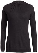 Fabiana Filippi Cashmere & Silk Gathered Sweater
