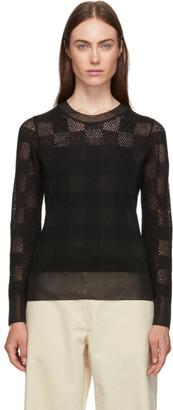 Rag & Bone Black Alpaca Charlotte Sweater