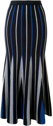 Gabriela Hearst Aegina striped knit skirt