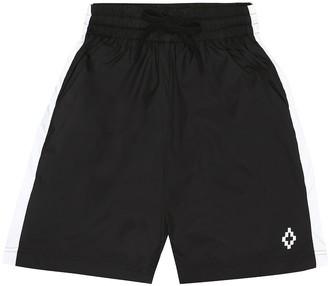 Marcelo Burlon Kids Of Milan Cross Logo swim trunks
