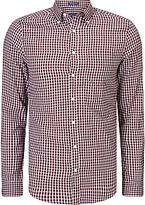 Gant Windblown Oxford Shirt, Mahogany Red