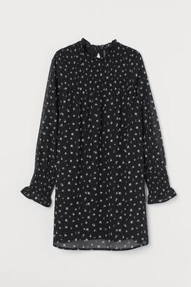 H&M Smocking-detail dress