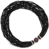 David Yurman Osetra Multi-Strand Black Onyx Necklace