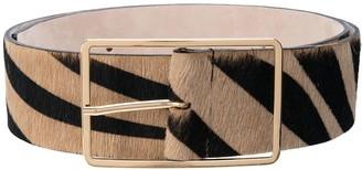 B-Low the Belt Milla zebra print belt