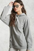 Forever 21 FOREVER 21+ Oversized French Terry Hoodie
