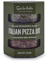 Sur La Table Italian Pizza Duo: Italian Seasoning Blend and Crushed Red Pepper