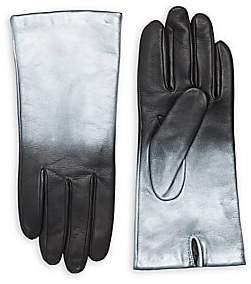 Carolina Amato Women's Ombre Leather Gloves