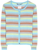 81 Hours 81hours Clyde striped cashmere cardigan