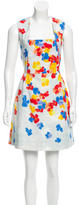Erdem Sleeveless Floral Print Dress w/ Tags
