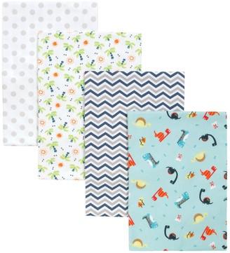 Trend Lab Dinosaur 4 Pack Blankets