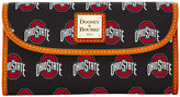 Dooney & Bourke Ohio State Buckeyes Large Continental Clutch