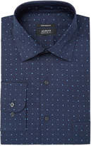 Alfani Men's Regular Fit Performance Stretch Diamond Star Print Dress Shirt, Created for Macy's