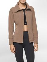 Calvin Klein Performance High Collar Fleece Jacket