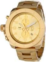 Vestal Unisex RES009 Restrictor All Gold Watch
