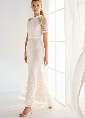 Phase Eight Poppy Embroidered Wedding Dress