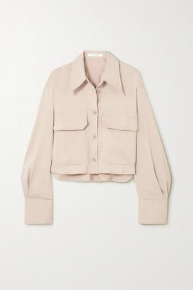 Low Classic Crepe Shirt - Beige