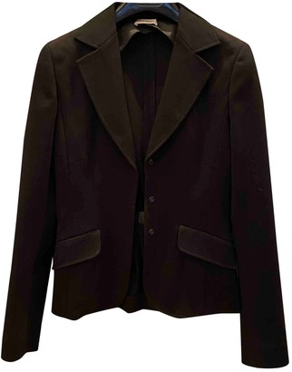 Philosophy di Alberta Ferretti Black Jacket for Women