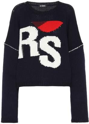 Raf Simons Cropped wool sweater