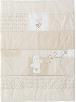 O Baby Obaby B is for Bear Quilt and Bumper Crib Set - Cream