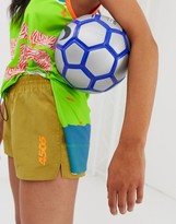 Asos 4505 4505 soccer short with side logo