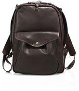 Filson Journeyman Leather Medium Backpack
